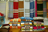 Fabric market in the Medina of Tunis - Tunisia — Stock Photo