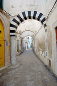 An alley of the Medina of Tunesi - Tunisia — Stock Photo