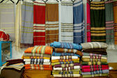 Fabric market in the Medina of Tunis - Tunisia — Foto de Stock