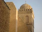 Kayravan, Tunus şehri büyük duvarları — Stok fotoğraf