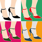 Shoes — Stock Vector