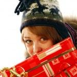 voller Geschenke — Stockfoto #6743530