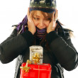 How many gifts for Christmas — Stock Photo #6745767