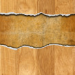 Cracked Wooden Background - Stockfoto