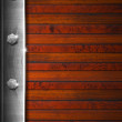 Stock Photo: Vintage Wooden and Metal Background