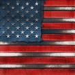 USA Grunge Metal Flag — Stock Photo #12579544