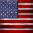 Royalty-Free Stock Photo: USA Grunge Wood Flag