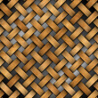 Braided Wooden Background — Stock Photo