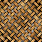 Braided Wooden Background — Foto de Stock