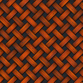 Braided Old Wood Background — Stock Photo