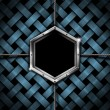 Business Hexagon Grunge Background — Stock Photo