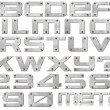 Metal Letters and Numbers — Stock Photo #13412904