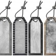 Set of Grunge Metal Tags - 4 items — Stock Photo #13413167