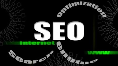 SEO engines strategy video — Stock Video