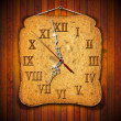 图库照片: Rusk Clock - Breakfast Concept