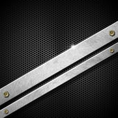 Altıgenler metal şablonu — Stok fotoğraf
