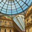 Milan - Vittorio Emanuele II gallery - Italy — Stock Photo #13593206
