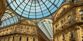 Milan - Vittorio Emanuele II gallery - Italy — Stock Photo