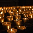 Church Votive Candles - ストック写真