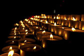 Church Votive Candles — Stock Photo