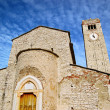 Parish Church of San Giorgio di Valpolicella - Foto Stock