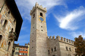 Cathedral Square - Trento Italy — Stock Photo