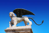 Lion of St. Marco - Marostica Italy — Stock Photo