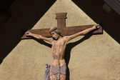 Ancient Crucifix - XI Century - Italian Art — Stock Photo