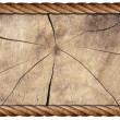 Royalty-Free Stock Photo: Grunge Wooden Frame