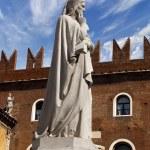 Постер, плакат: Statue of Dante in Verona Italy