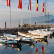 Stock Photo: Porto di Cisano - Lago di Garda (Italy)