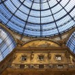 Milan - Vittorio Emanuele II gallery - Italy - Stock Photo