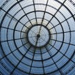Glass Dome of Galleria Vittorio Emanuele II — Stock Photo