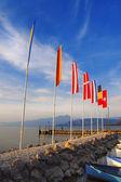 Porto di Cisano - Lago di Garda (Italy) — Stock Photo