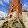 Soave Castle Keep - X Century - Verona Italy - Stok fotoraf