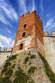 Soave Castle Keep - X Century - Verona Italy — Stock Photo