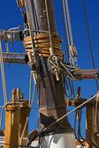 Sailing Ships Mast — Stock Photo