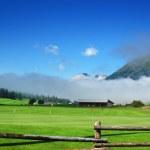 Mountain Golf - Zuoz, Engadina Switzerland — Stock Photo