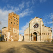 Basilica of San Zeno Verona - Italy - Stock Photo