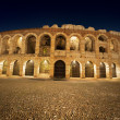 Arena di Verona by Night - Italy - Stock fotografie