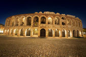 Arena di Verona by Night - Italy — Stock Photo