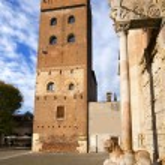Torre Abbaziale di San Zeno - Verona Italy — Stock Photo