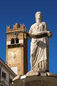 Madonna Verona 300-1368 b.C. - Veneto Italy — Stock Photo