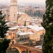 Verona during Winter - Italy — Stock Photo #16983401