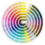Pantone Color Palette — Stock Photo