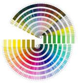 Pantone Color Palette - Semicircle — Stock Photo