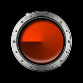 Oblò in metallo — Foto Stock