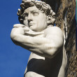 David by Michelangelo - Florence Italy - ストック写真