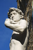 David by Michelangelo - Florence Italy — Stock Photo