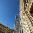 Bell Tower Giotto and Cathedral - Florence Tuscany Italy - Stok fotoraf